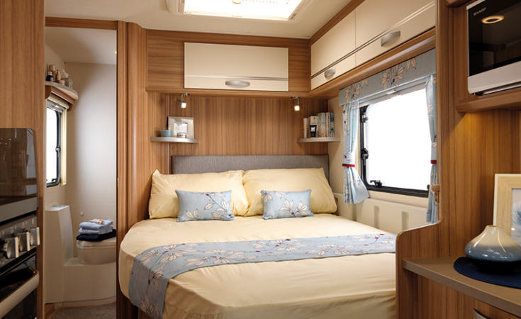 Quasar 544 Double Bed
